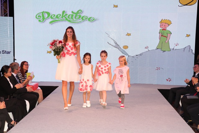 Le Petit Prince collection by Peekaboo on stage.