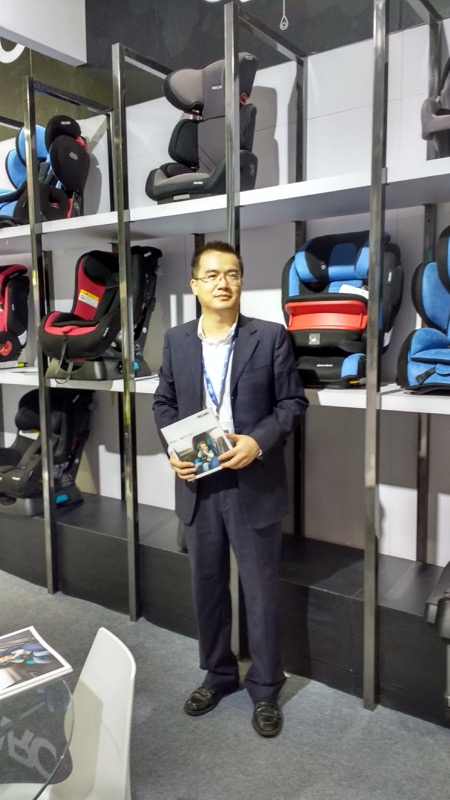 Shen Changlay, Brand Manager of ForU, Chinese distributor of Recaro, stated that Chinese consumers trust foreign brands, especially German.