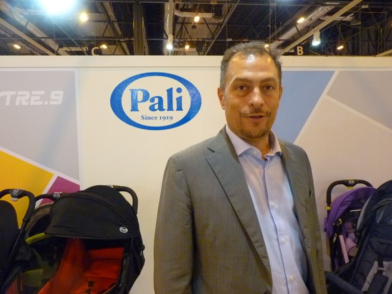 Gabriele Masarotti, commercial manager of Pali